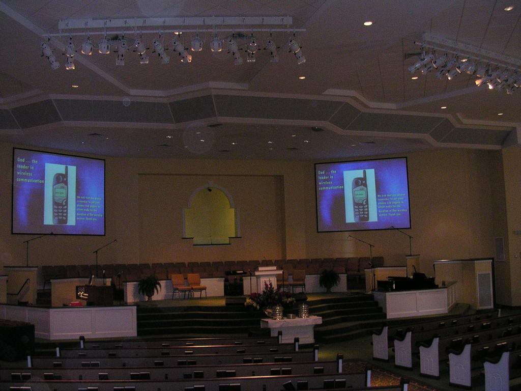 Pleasant Heights Baptist Church Austin Audio Visual Design